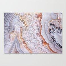 Crazy lace agate Canvas Print