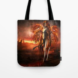 With fire Tote Bag