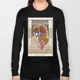 Queen of Swords - Azealia Banks Long Sleeve T-shirt