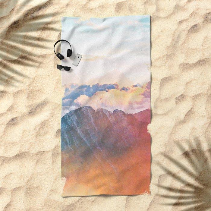 Mountain Glory #society6 #decor #buyart Beach Towel
