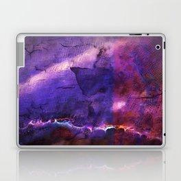 purple neon Laptop & iPad Skin