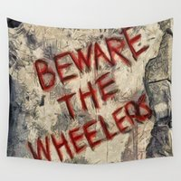 oz Wall Tapestries featuring Beware The Wheelers Return To Oz by Joe Misrasi