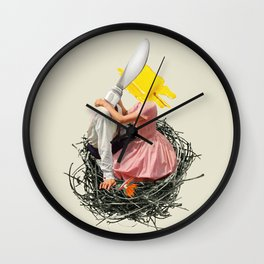 Hot Knife Wall Clock