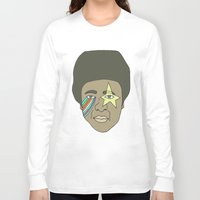 the dude Long Sleeve T-shirts featuring dude by Chad spann