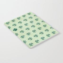 Lucky Clover Pattern Notebook