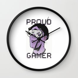 Proud Gamer Best Gift Wall Clock