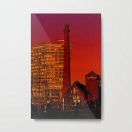 The Pump House Metal Print