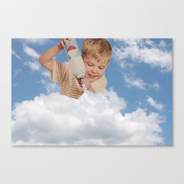 Young Whippersnapper Canvas Print