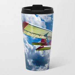 Single Propeller Plane Travel Mug