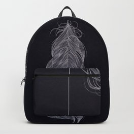 ..and then whats left is your arrow. Backpack