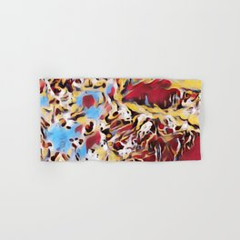 Abstract Background Hand & Bath Towel