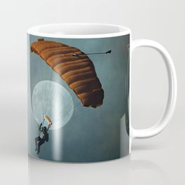 Skydiver's Moon Coffee Mug