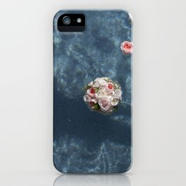 Bouquet and Bride Floating iPhone Case
