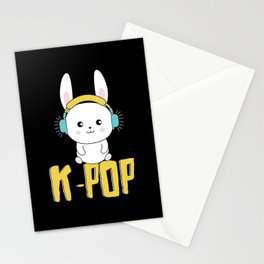 K-Pop Bunny Stationery Cards