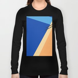 Swimming Pool with Blue Water Long Sleeve T-shirt