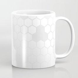 Grey Honey Comb Coffee Mug