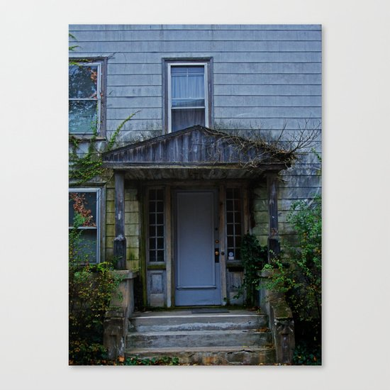Anybody home? Canvas Print
