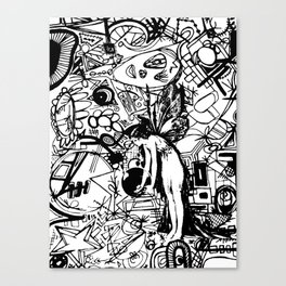 Abstinence Educated Canvas Print