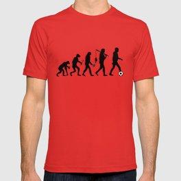 Evolution of Soccer Species T-shirt