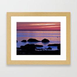 Nature's Evening Kiss Framed Art Print