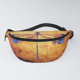 Dragonfly in Amber Fanny Pack
