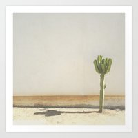 cactus Art Prints featuring Cactus by Amber Barkley