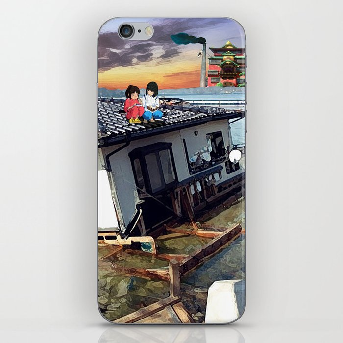 Beyond the Sea - Spirited Away / Ponyo Tsunami Series iPhone Skin