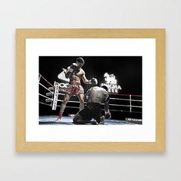 Dominance Framed Art Print