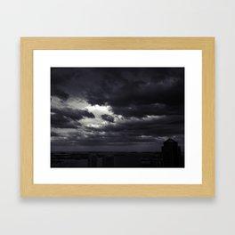 Cloudbank - 5 Framed Art Print