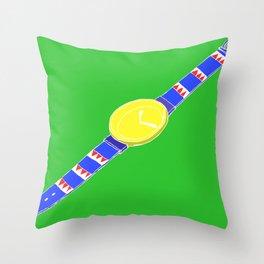 Watch_1 Throw Pillow