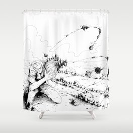 Desert #2 Shower Curtain
