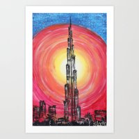 the national Art Prints featuring National Pride by sladja