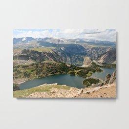 Beartooth Pass Lookout Metal Print