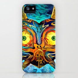 Colorful Majora´s Mask iPhone Case