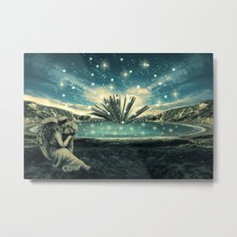 The Knowledge Keeper Metal Print