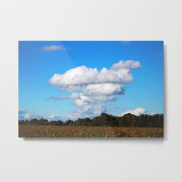 Country Clouds Metal Print