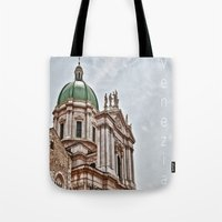 italy Tote Bags featuring Italy by LaiaDivolsPhotography