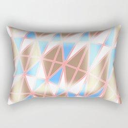 Pastel Tracery Rectangular Pillow