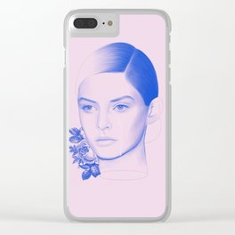 Troubled Clear iPhone Case