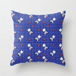 KiniArt Westie Love Doctor Throw Pillow