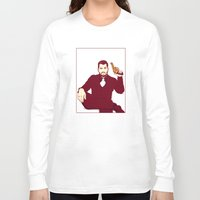 welcome Long Sleeve T-shirts featuring Welcome by FalcaoLucas