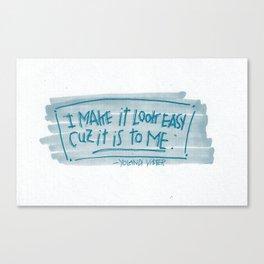 YO-LANDI VI$$ER Canvas Print