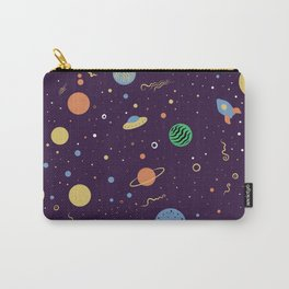 Space Illustration Carry-All Pouch