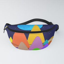 Fanciful Hills -2 Fanny Pack