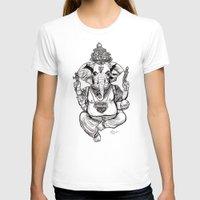 ganesha T-shirts featuring Ganesha by emspressionism