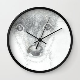 oh, deer Wall Clock