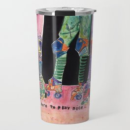 Roller Derby Girls Travel Mug