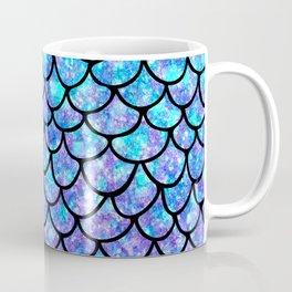 Purples & Blues Mermaid scales Coffee Mug