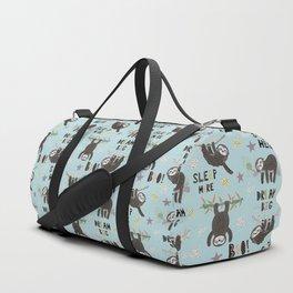 Super Hero Sloth Duffle Bag