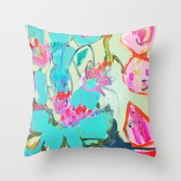 cacti1 Throw Pillow